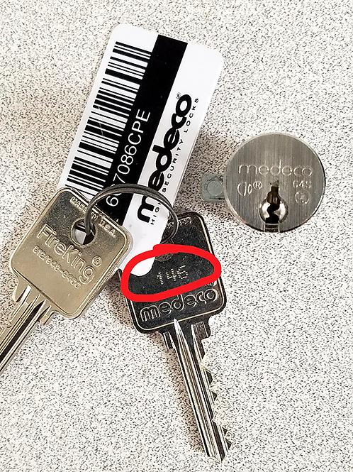 Key Duplication via Code Key (Set of 2 per order)