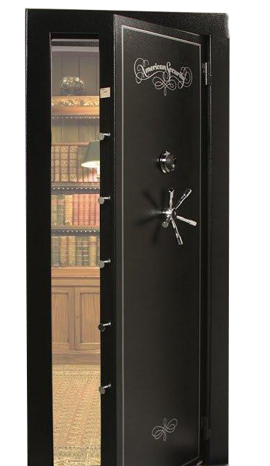 Black Security Vault to keep your money and possessions safe and secure. Same as this security vault, Armor Locksmith offer the same security banks use.