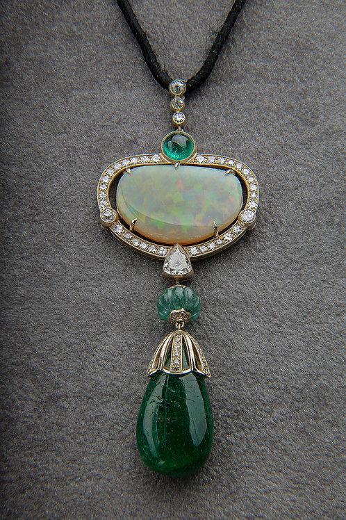 Collana smeraldo