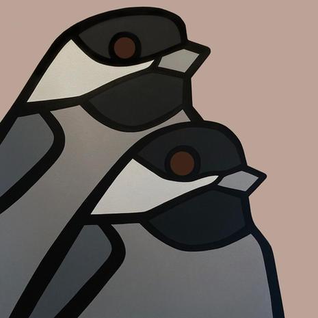 Chickadees  •  36x36