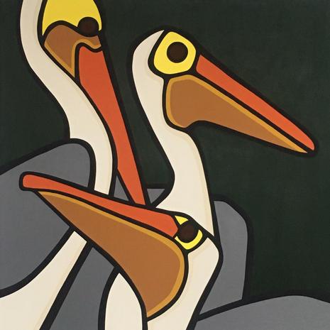 Pelicans  •  40x40