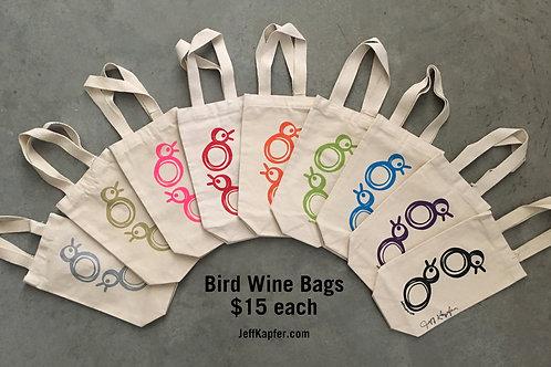 Bird Wine Bag