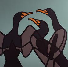 Cormorants  •  40x40