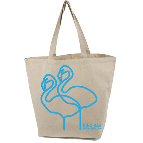 Bird Bag  •  Flamingo