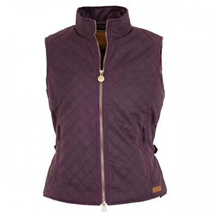 Women's Quilted Oilskin Vest