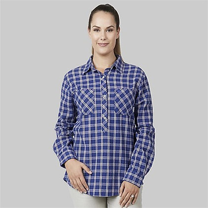 Women's Barn Cotton Long Sleeve Shirt