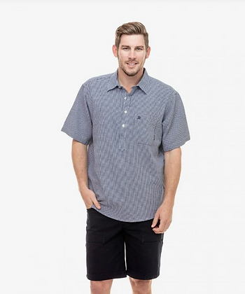 Paihia Short Sleeved Cotton Shirt