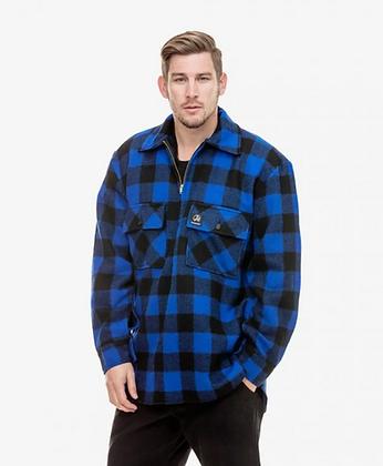Ranger Wool Zip Front Bush Shirt