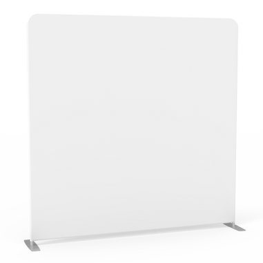 White Stretch Photo Booth Backdrop