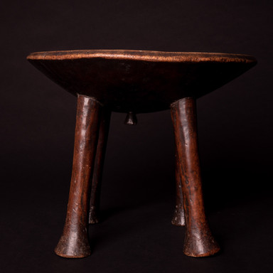 Luo Stool late 19th to early 20th cent