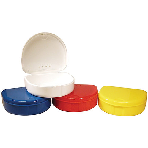 Individual colours retainer boxes