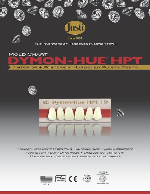 Justi® Dymon-Hue® HPT Hardened Plastic Teeth