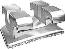 D.B. metal brackets standard