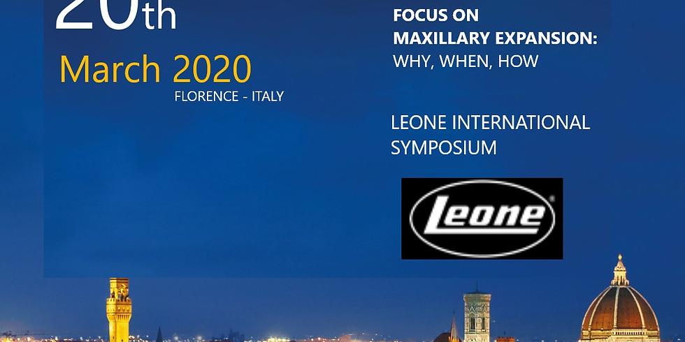 March 2020 Leone International Symposium