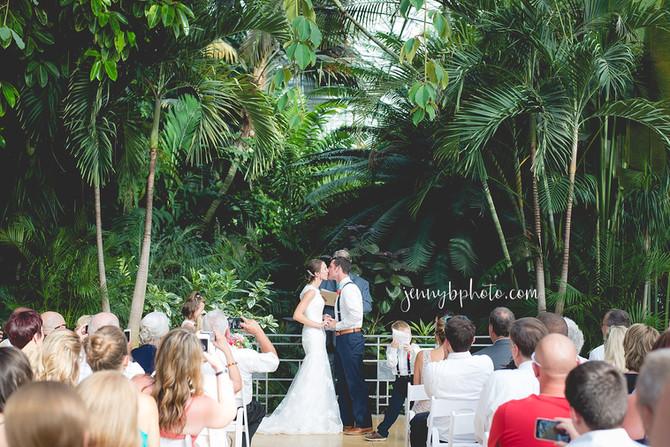 cincinnati krohn conservatory wedding