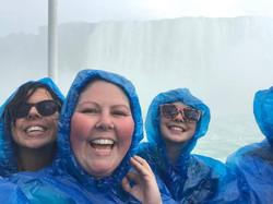 being a tourist. niagara falls