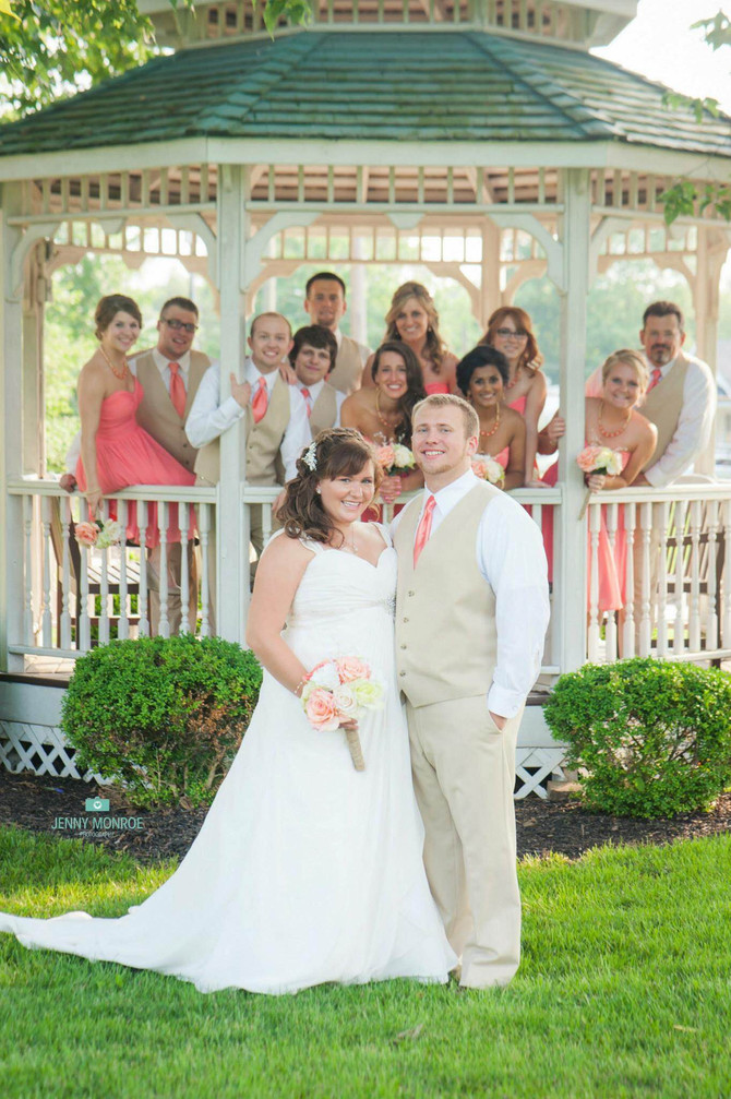 A summer wedding in Cincinnati!