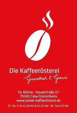 Kaffeerösterei Calw Weiße Bohne auf rote