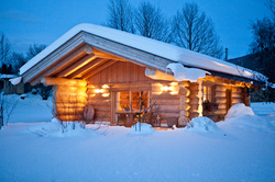 Sauna-Wellness-Blockhaus
