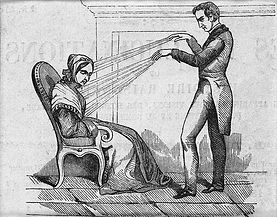 A practictioner of Mesmerism using Anima