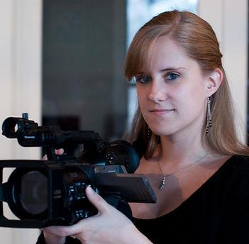 Emma Mankey Hidem, CEO of Sunnyside Productions, a Washington, DC based video production company