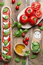 Tomato, Basil, Mozzarella