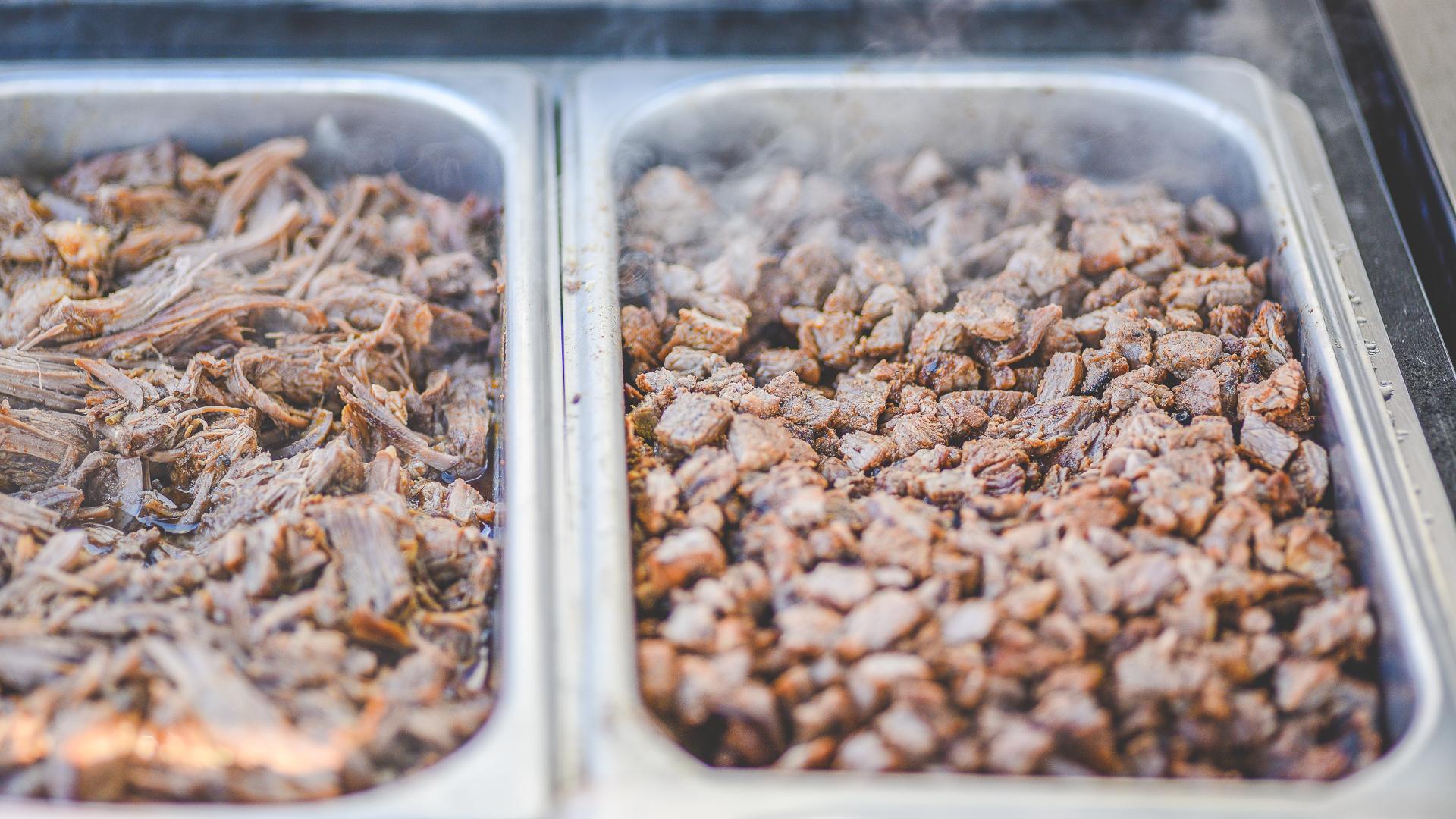 barbacoa and carne asada