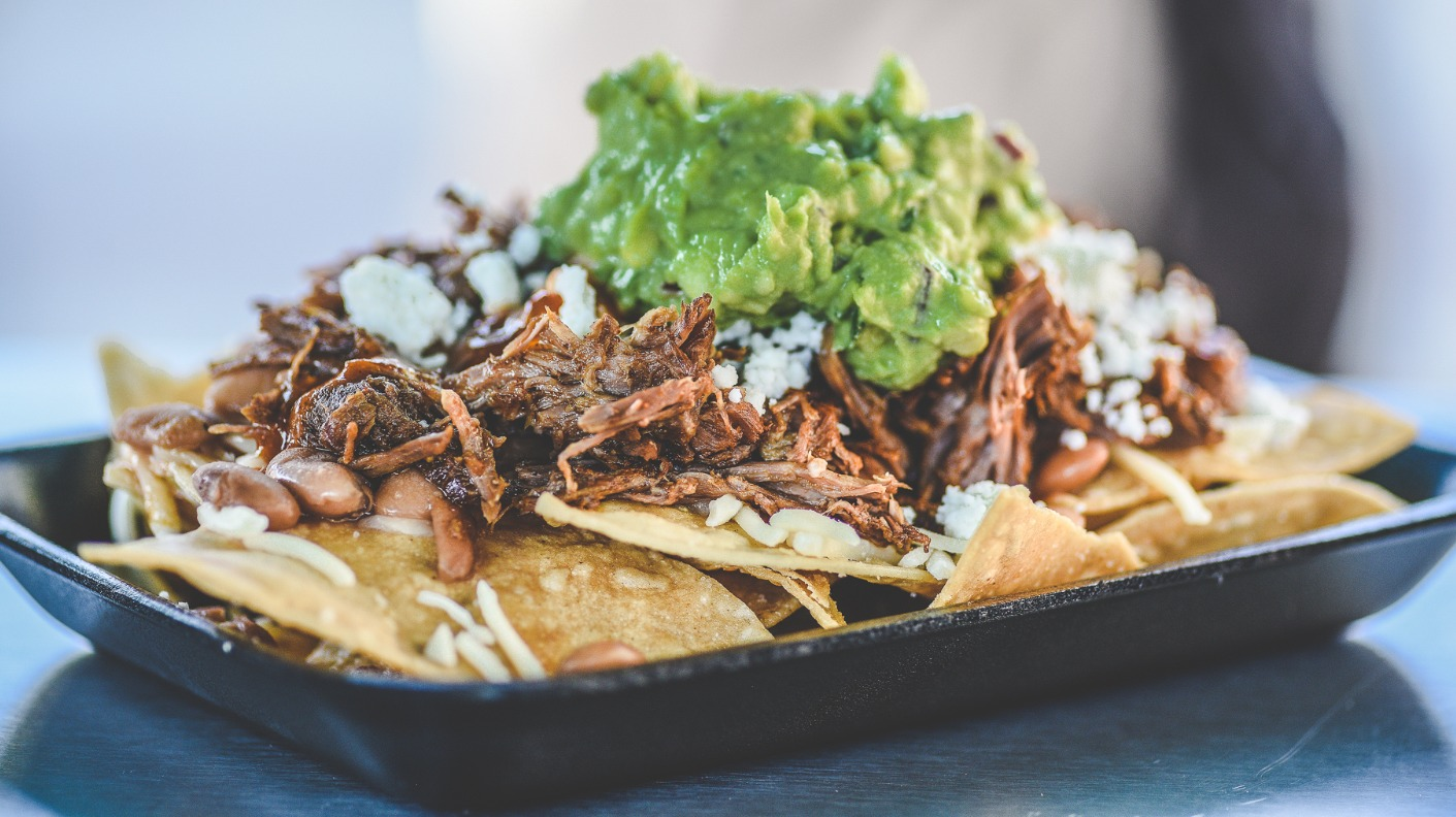 barbacoa nachos