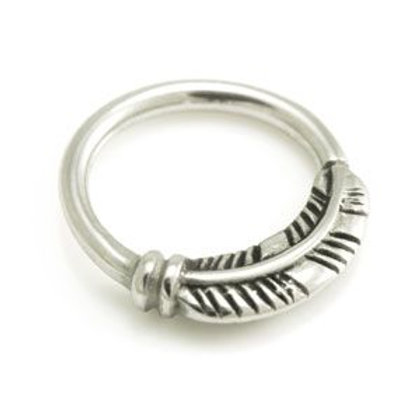Seamless Feather Septum / Ear Ring