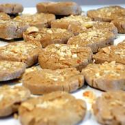 Three Dog Bakery's peanut mutter cookies
