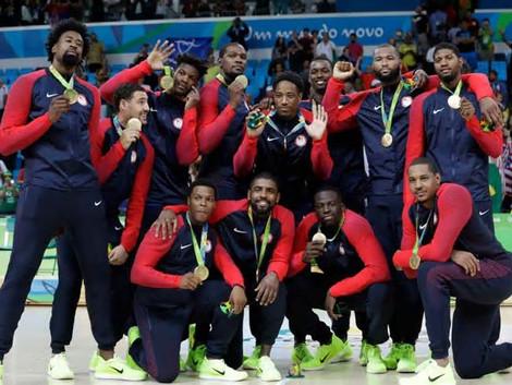 金牌让全世界都闭嘴, 梦幻队里约夺金
