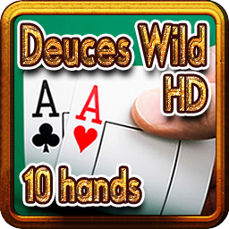 2619-Deuces Wild HD 10 hands--百搭二王(10手牌)