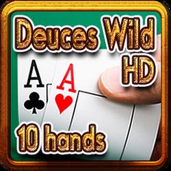 2619-Deuces Wild HD 10 hands--百搭二王(10手牌)