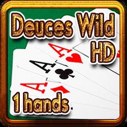 2617-Deuces Wild HD 1 hands-百搭二王(1手牌)