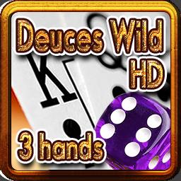 2618-Deuces Wild HD 3 hands-百搭二王(3手牌)