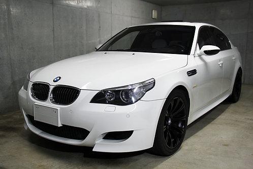 BMW M5(E60) 507馬力V10 NA 新品タイヤ 走行38,600km ノーマル (アルピンホワイト)