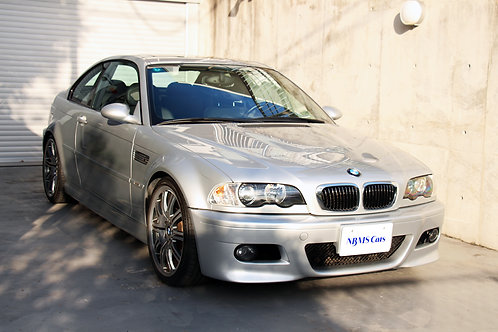 BMW E46 M3 manual transmission (used to be SMG)  37,900km
