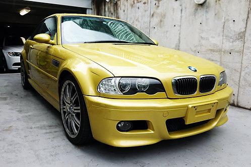 BMW E46 M3 6.6万キロ
