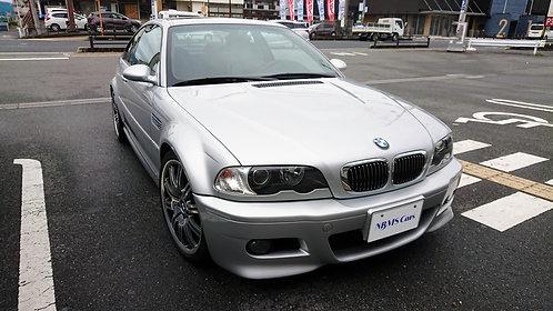 【準備中】BMW E46 M3 マニュアル化車両 3.8万キロ