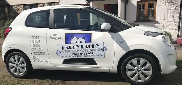 Happy Lappy car