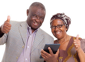 Couple confient with technology