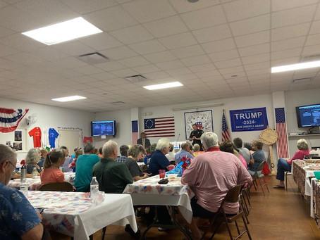 Polk County GOP Meeting in Columbus
