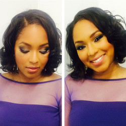 E! News Alicia Quarles Makeup Artist