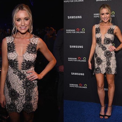 Actress Katrina Bowden Makeup Artist