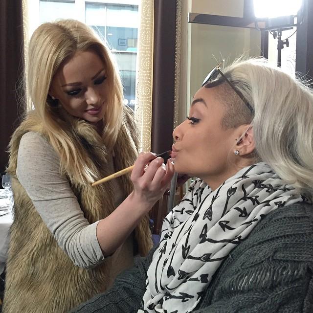 Raven Symone Makeup Artist