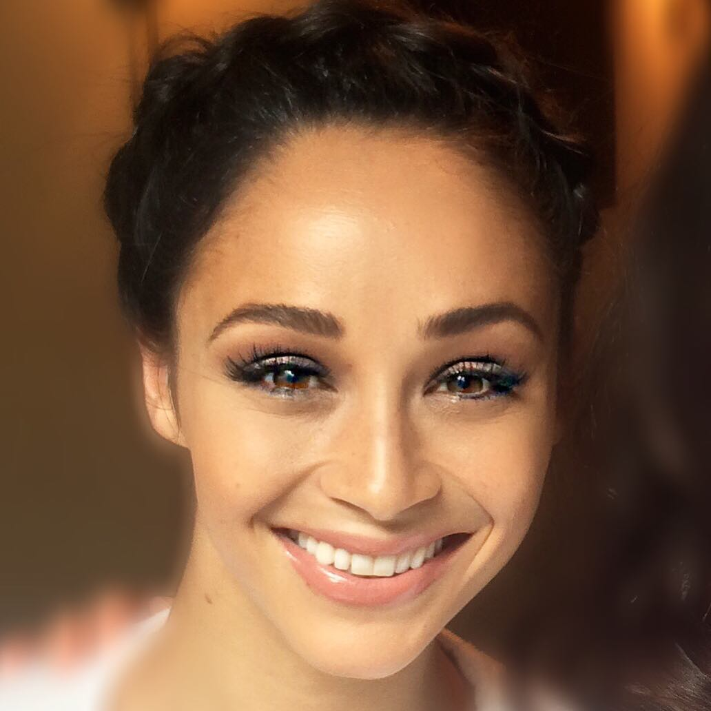 Actress Cara Santana Makeup Artist