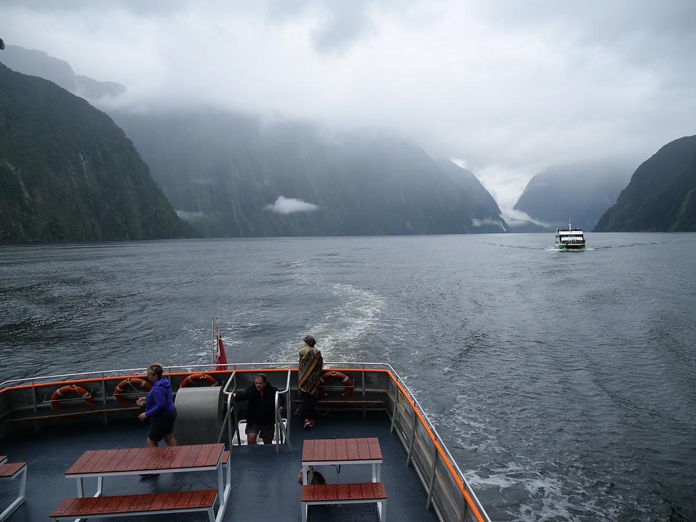 Milford Sound Cruise with Go Orange