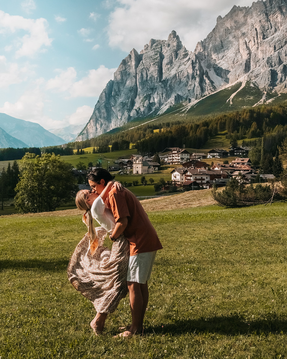 Instagrammable location, Cortina D'Ampezzo, Dolomites Italy