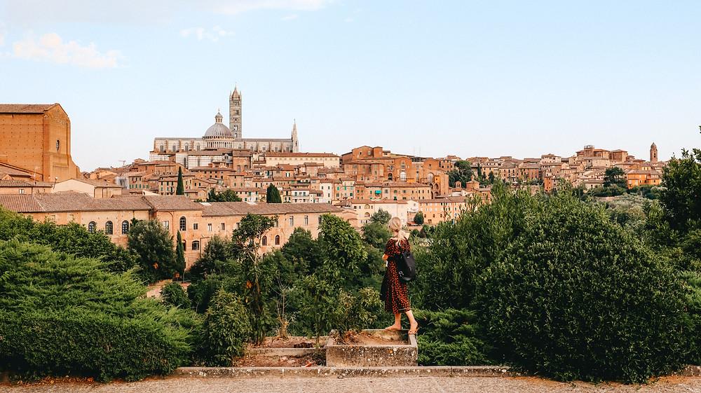 Siena Italy itinerary