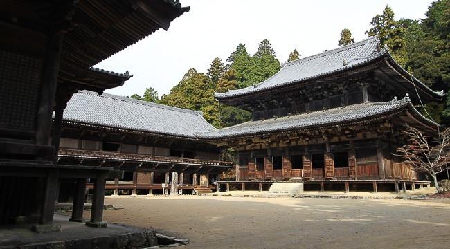 Mount Shosha Engyo-ji temple